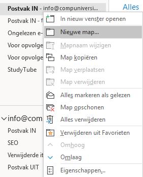 Regels maken in Outlook